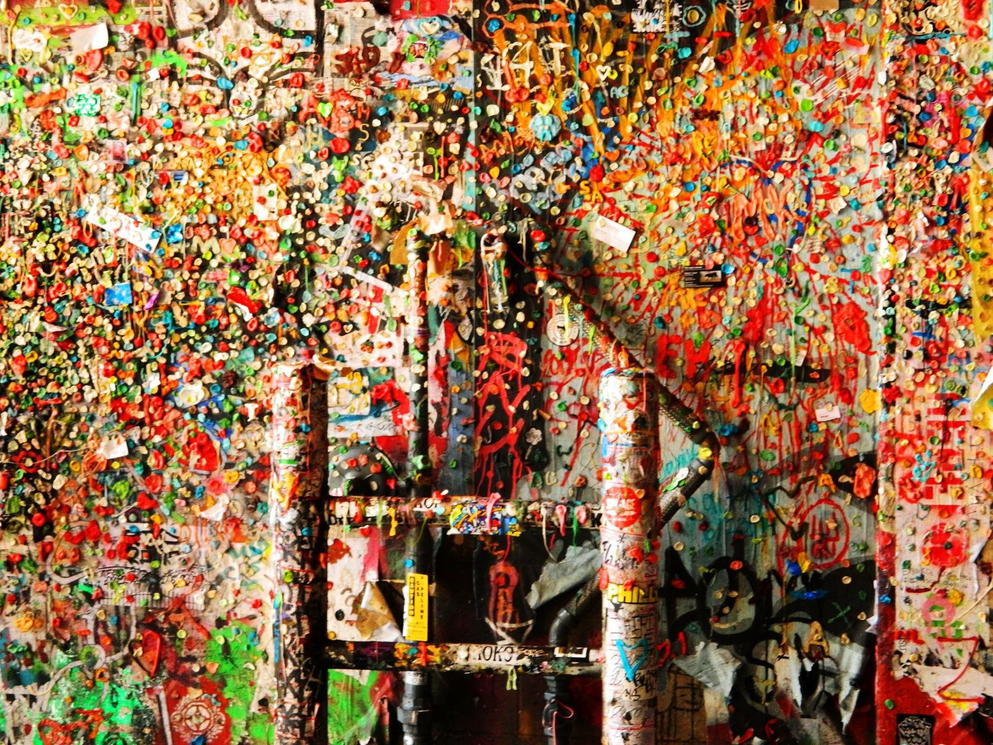 Gum Wall Photo Contest